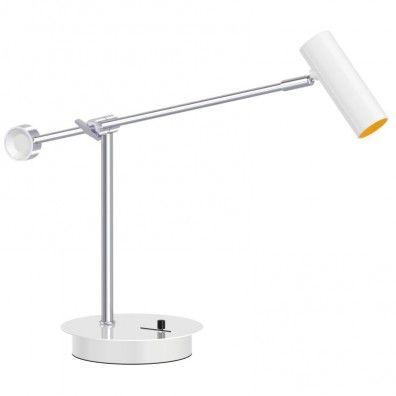 Vintage Lampekonsulenten Classic LED Schreibtischleuchte weiss