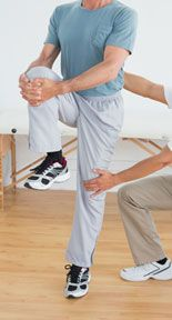 Being able to stay in this position without assistance is key for stability and pain relief.