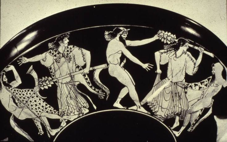 Adonis, Demeter and Peresphone, Dionysus