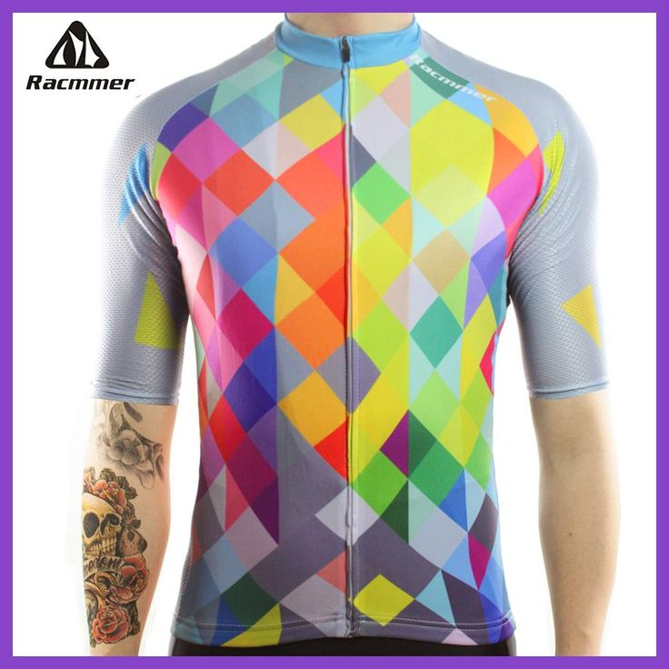 Racmmer 2018 Cycling Jersey Mtb Bicycle Clothing Bike Wear Clothes Short Maillot Roupa Ropa De Ciclismo Hombre Verano #DX-40