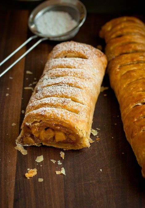 Apple-Strudel - I followed the recipe (omitted nuts) and it turned out A.M.A.Z.I.N.G! You'll love it!