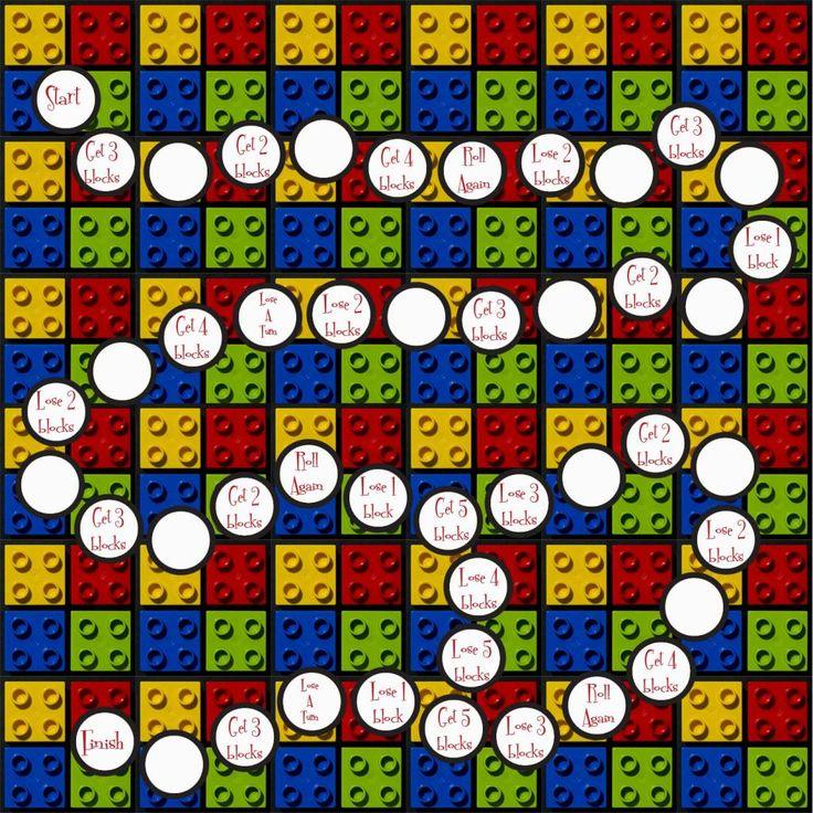 printable lego board game My Junebug Pinterest Other