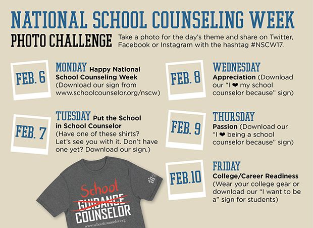 National School Counseling Week | American School Counselor Association (ASCA)