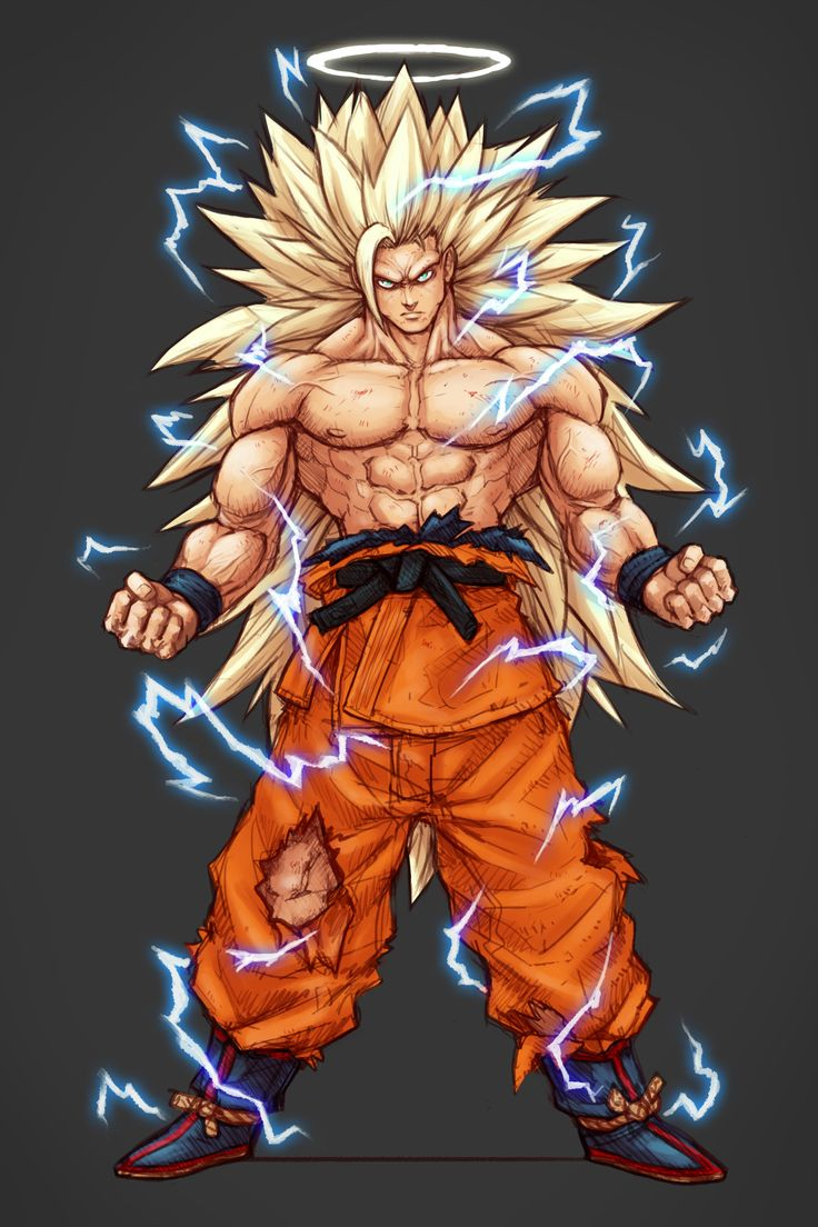 ArtStation - SS3 angel Goku, Guillem Daudén