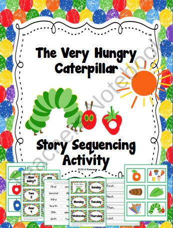 Your little ones will really enjoy this sequencing activity with the favorite…