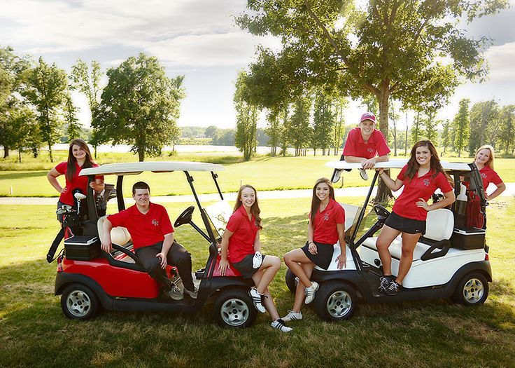 Golf Team photo ideas!