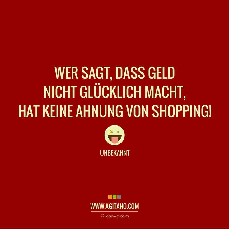 #zitate #sprüche #shopping #lustig #agitano