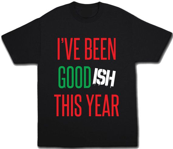 Funny Christmas Shirt! Use heat transfer materials and a heat press to make personalized Christmas apparel for your little monsters. ;-)