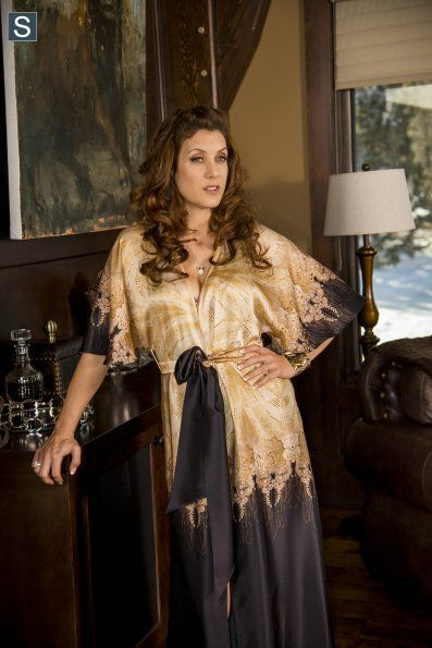 """Kate Walsh as Gina Hess in the FX series Fargo. """"When due I get my money?"""""""