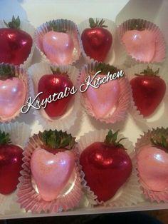 Red n Pink bling berries
