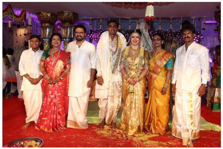 Radikaa's daughter Rayane's marriage got married with cricketer Abhimanyu Mithun on 28th August 2016. Get #upates with #cinema #stars #wedding celebration from #chennaiungalkaiyil.