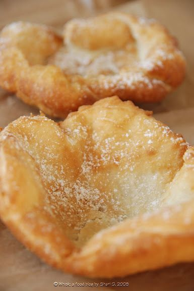 —Deep Fried Pizza Dough
