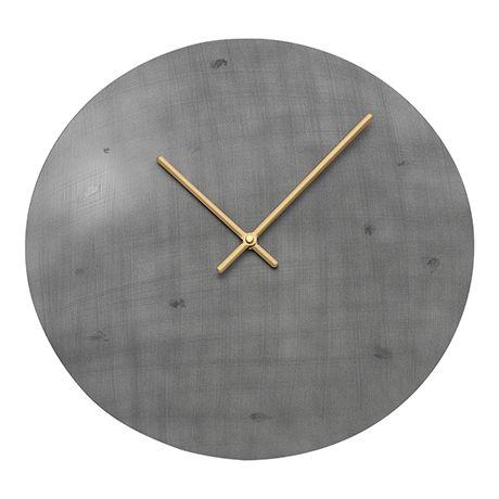 Disc Clock 40cm  Aluminium
