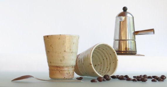Coffee cup ceramic espresso tumbler ceramic cup shot by toscAnna