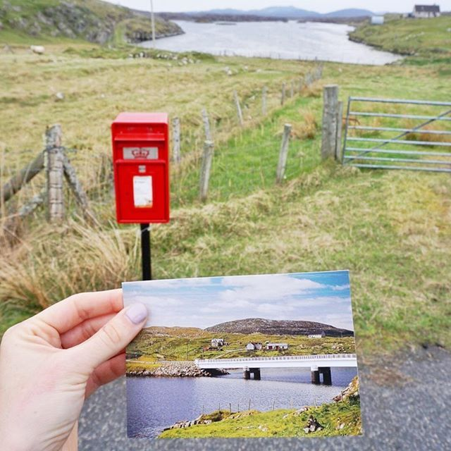 Sending postcards from the far north west of Scotland! The only thing west of here is the USA. I love exploring tiny random places when I travel, far more than big cities. And wherever I go, I send postcards to my grandparents in New Zealand, wishing they could see what I do! // #travelismorethaninstagram . . . . . . . . #scotland #igersscotland #igersscots #scotlandlovers #lovegreatbritain #visitscotland #scotlandsbeauty #explorescotland #brilliantbritain #OMGB #lovescotland…