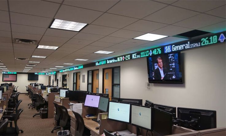 STOCK TICKER DISPLAY- A DISPLAY FULL OF INFORMATION, THAT ONE CAN GATHER WITH AN EASE