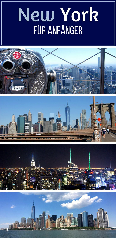 New York für Anfänger. In 2016 ging es wieder in die USA und diesmal stand auch endlich New York City auf dem Programm. Lange habe ich auf die Zeit im Big Apple hingefiebert. Endlich über die Brooklyn Bridge spazieren, die Skyline Manhattans und die Freiheitsstatue sehen... Yellow Cabs, der Times Square und der Central Park.. Ja, das ist NEW YORK. #nyc #newyork Ich zeige dir, was du bei deinem ersten Besuch, unbedingt sehen musst.
