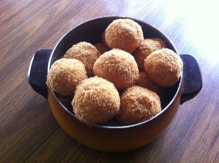PIROSKA adores Hungarian food & summer means plum dumplings! Szilvas gombóc...delicious!