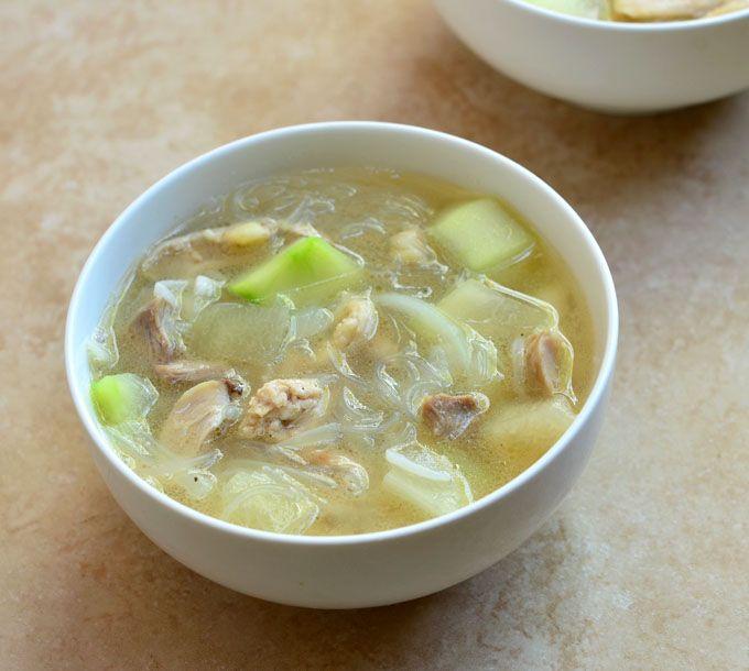 Sotanghon at Upo Soup - Kawaling Pinoy