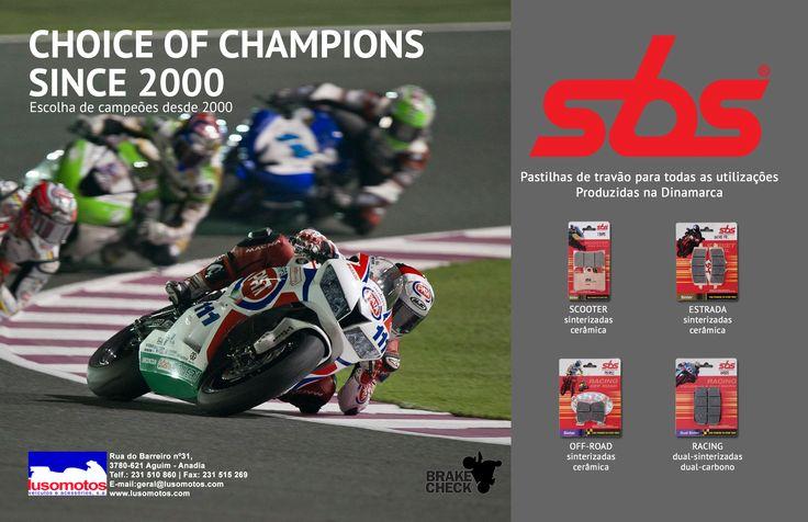 SBS | A escolha dos campeões   #sbs #lusomotos #pastilhas #travão #dinamarca