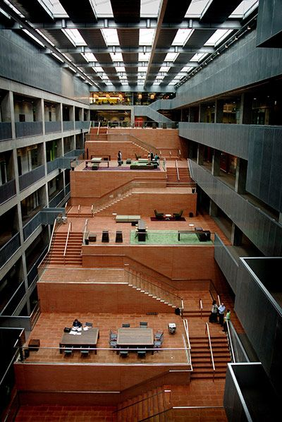 Going for gold: David Chipperfield's best buildings in pictures BBC building in Glasgow