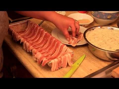 Baconos csirkemell őzgerincben sütve. Recept a leírásban is! :) - YouTube