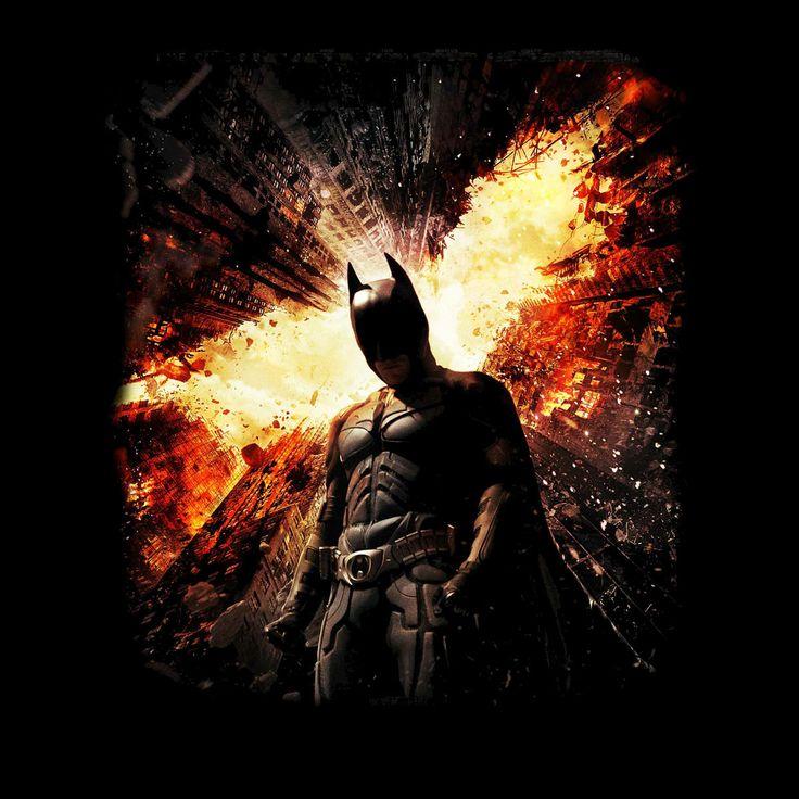 Camiseta Batman 3 El Caballero oscuro: La leyenda renace   Batman 3 The Dark Knight Rises t-shirt #batman3 #camisetas #tshirt