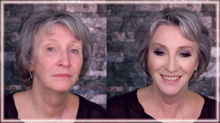 Reife Haut Schminken Tutorial Anti Aging Make Up Ab 40 50 60 70 Pflege S Reife Haut Schmink Tutorial Umstyling