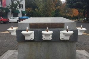 Lithia Water Fountain in Ashland Oregon