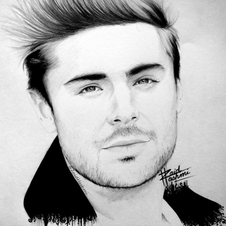 Sketched #ZacEfron ✍🎈🎉