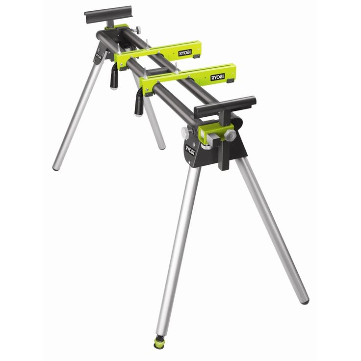 RYOBI - #AMS03G or #RLS01, Universal Mitre Saw Stand @ http://www.bunnings.com.au/ryobi-universal-mitre-saw-stand_p6210414  (Australia, N/A in US ?)