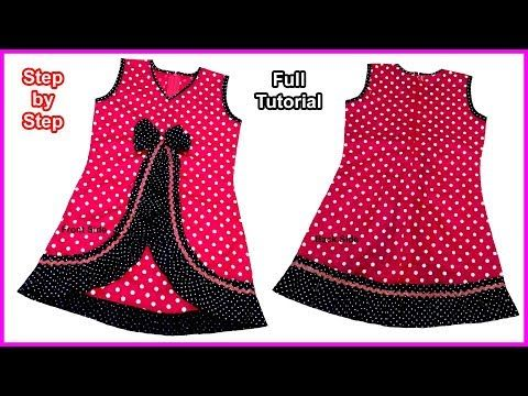59c8963ad Zabardast Designs A Baby Frock Cutting and Stitching Full Tutorial for Very  Easy Way - YouTube