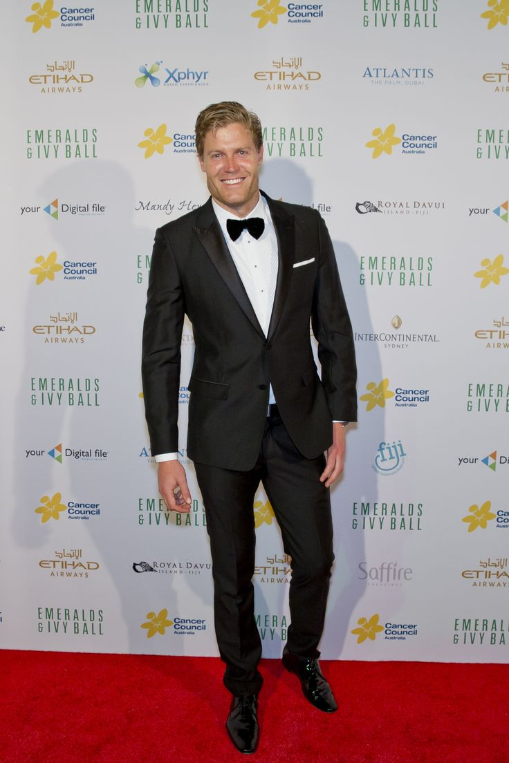 Dr Chris Brown gracing the Emeralds and Ivy Ball 2015 carpet!