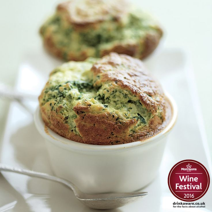 Don't let soufflés scare you! Follow this recipe for an easy-to-make dish that looks and tastes indulgent. Use Cheshire cheese if you're celebrating all things English this St George's Day! Our wine experts recommend serving with Madonnina Gavi. po.st/SpinachSouffle