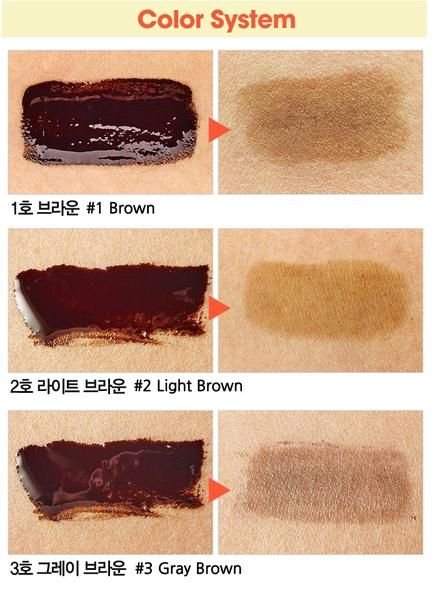 NEW! Etude House Tint My Brows Gel 5gr 100% Original