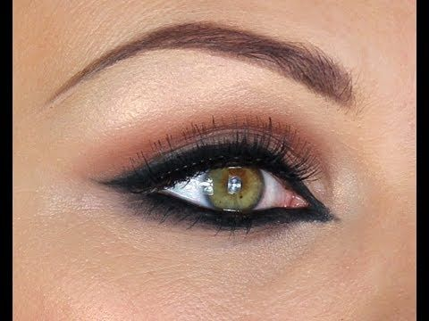 I love this look and it works well for my eye shape. I have a hard time doing traditonal make up looks with dark in the crease and a light on the lid. I can much contour and such much easier in reverse.(dark on the lid light in the crease) ARABIC STYLE MAKE-UP TUTORIAL - HAIFA WEHBE
