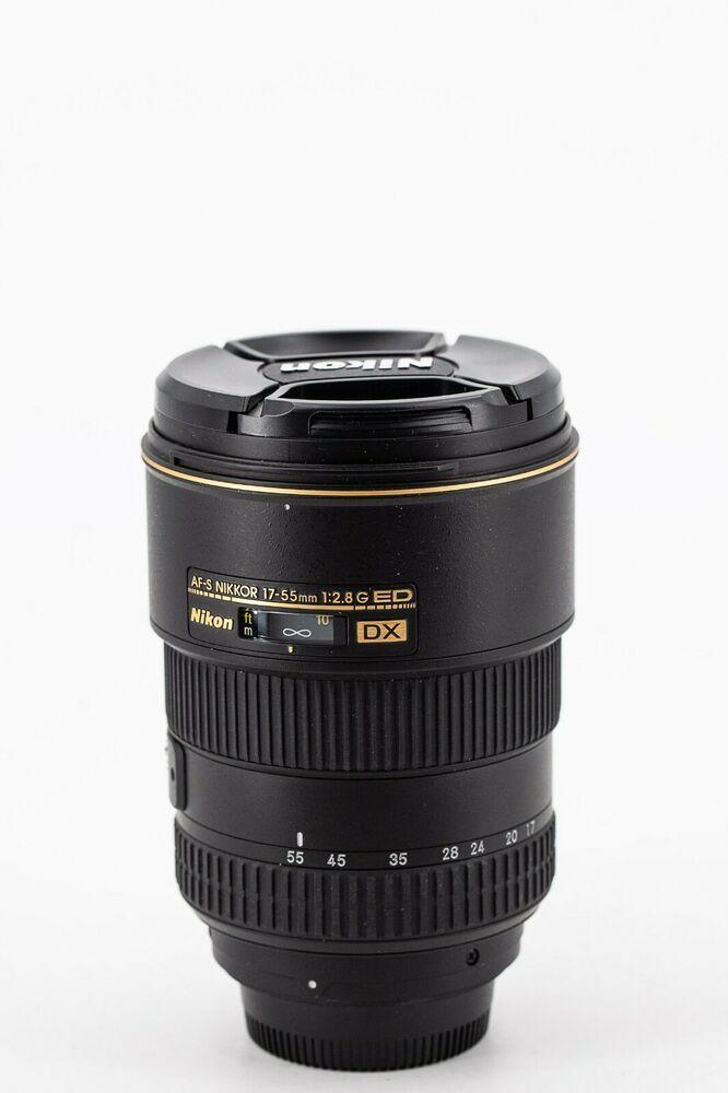 Nikon Nikkor 17 55mm F 2 8 Af S Lens 28g Ed Mint Nikon Dx Stuff To Buy Nikon