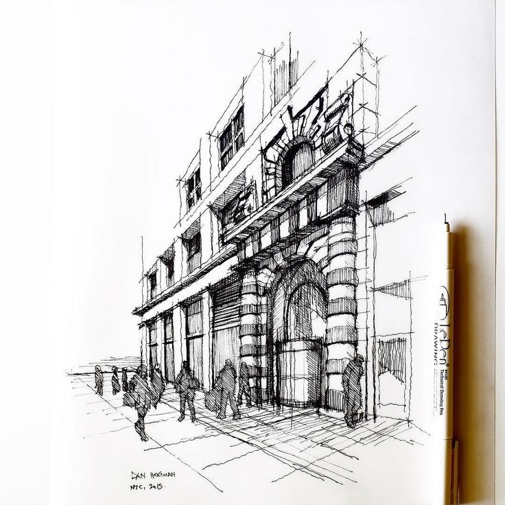 Pencil Architectural Illustration : Best images about draw architectural on pinterest