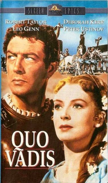 Filmes Antigos Club - A Nostalgia do Cinema: Quo Vadis: O Colossal Épico da Marca do Leão.