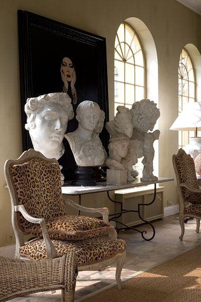 DECOR ; INTERIORS ; ROOMS ; ART ; Guy Obijn