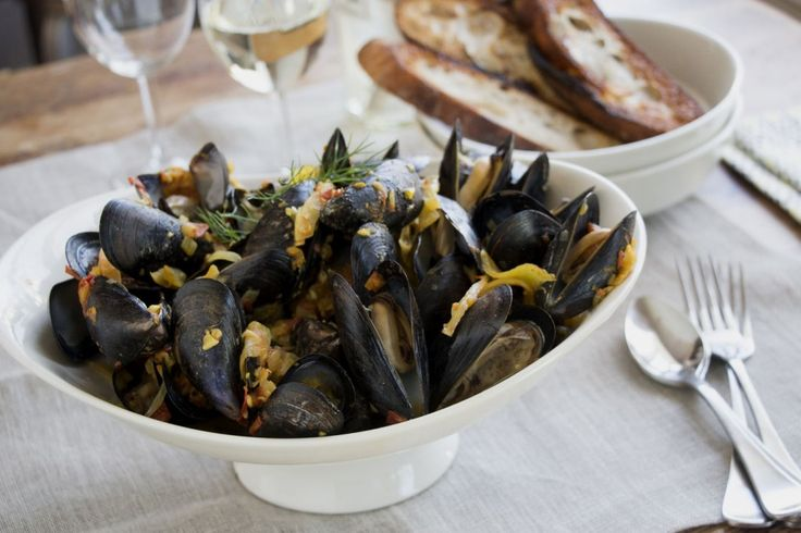 mussels with fennel and saffron | Seafood Recipes | Pinterest