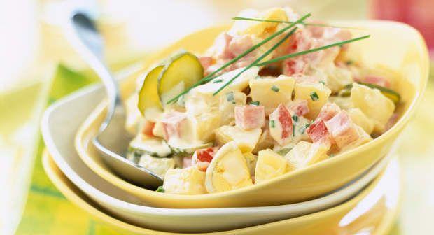 Salade piémontaise de nathVoir la recette de la Salade piémontaise de nath >>