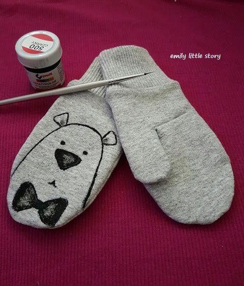 Emily little story: Rękawiczki - kurs szycia bez wykroju