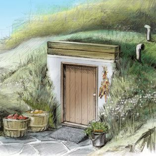 Root Cellar Plans - DIY - MOTHER EARTH NEWS
