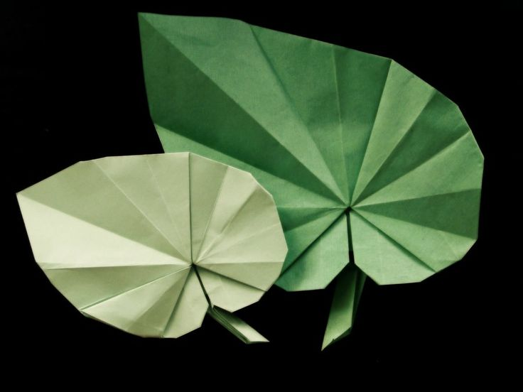 Origami Begonia Leaves by ~Missingno413 on deviantART
