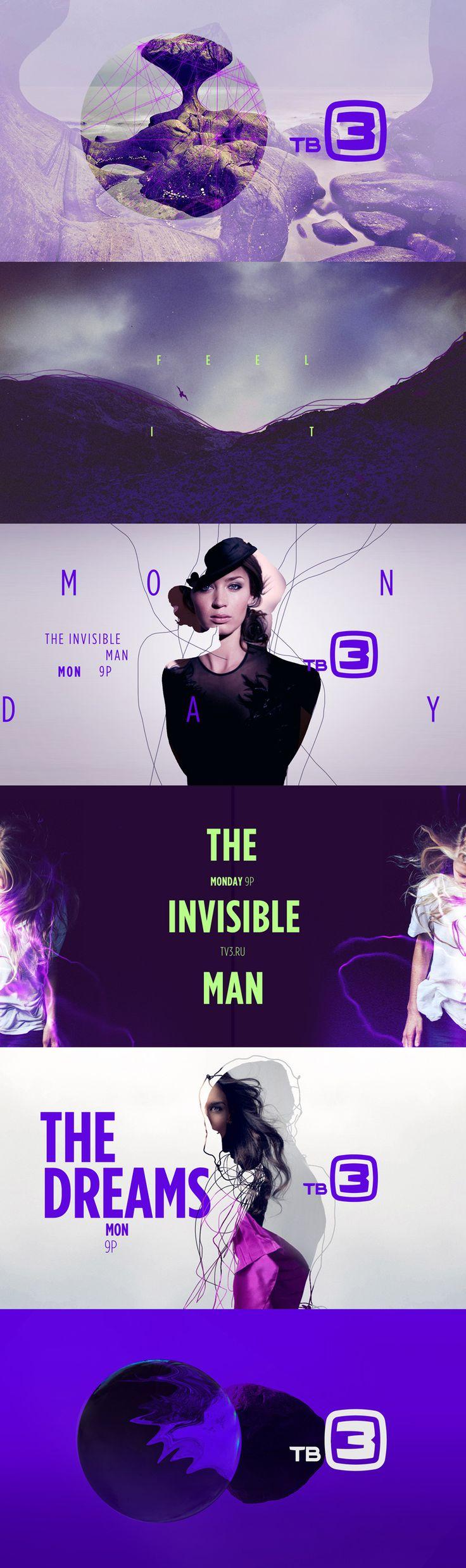 Style frames - motion graphic design  TV3 - Carla Dasso