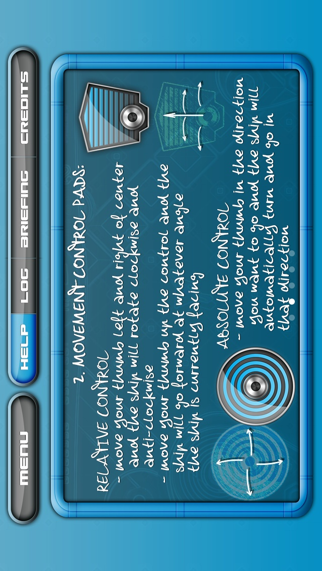 Screenshot - help screen