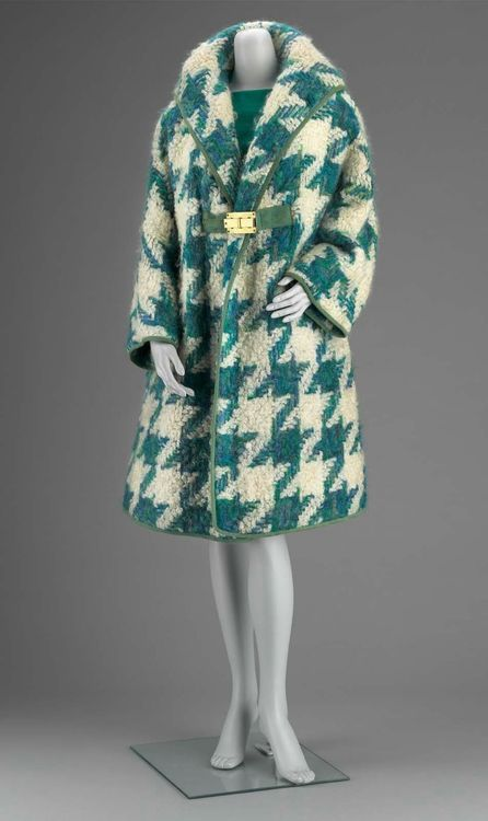 Woman's ensemble in three parts (coat, skirt and top). American, 1960s  Designed by Bonnie Cashin.