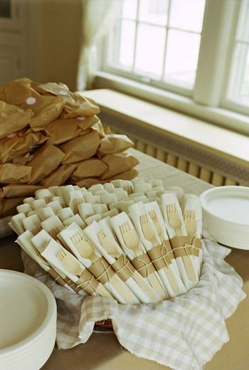 eco-friendly utensils for super cheap... i love it & 13 best Eco-Friendly Events images on Pinterest | Weddings Wedding ...