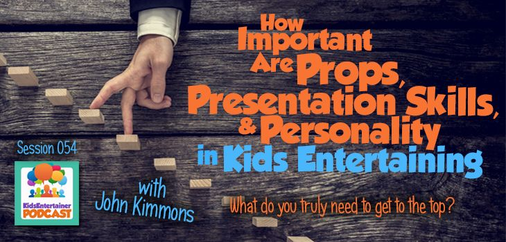 Want to pick the brain of a children's entertainer world champion? We did. We talked with John Kimmons about props, presentation, audience handling techniques, and a whole lot more. Go and listen to the interview right here: http://kidsentertainerhub.com/props-presentation-skills-personality/